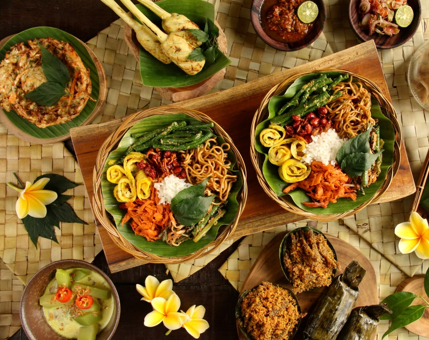 Food while traveling in Indonesia